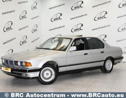BMW 7 klasė, 1989