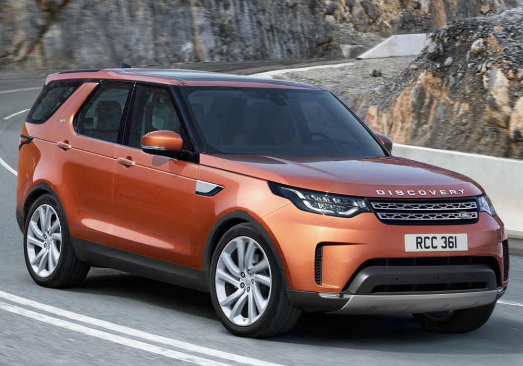 Land Rover Discovery (LR5) 2017 - dabar