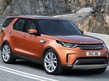 Land Rover Discovery 2017 - dabar